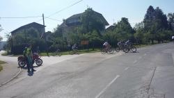 Redarstvo na kolesarskem maratonu treh občin