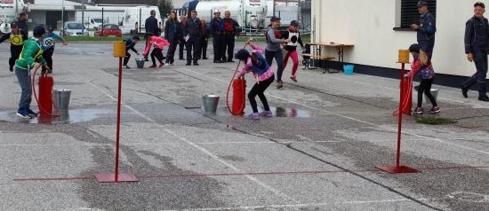 Občinsko gasilsko tekmovanje Grosuplje 2017