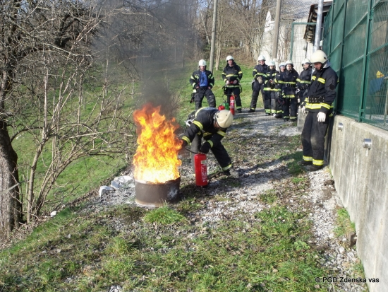 Osnovni tečaj za gasilca